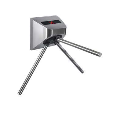 TTR-10AK Motorized tripod turnstile for transport, with automatic anti-panic function